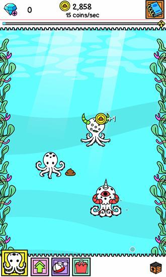 Octopus evolution: Clicker für Android
