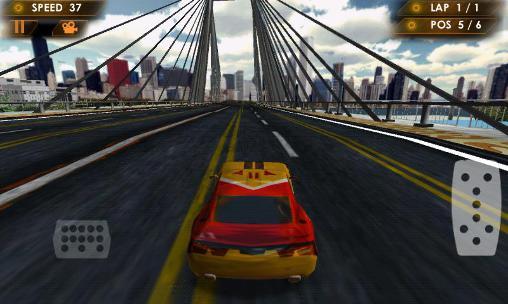 Street racer 3D screenshot 1