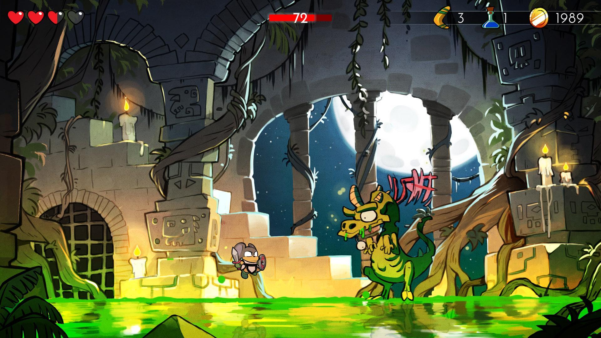 Wonder Boy: The Dragon's Trap スクリーンショット1