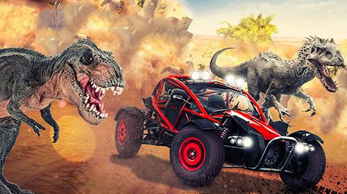Dinosaurier Dino world car racing auf Deutsch