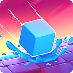 Splashy cube: Color run Symbol