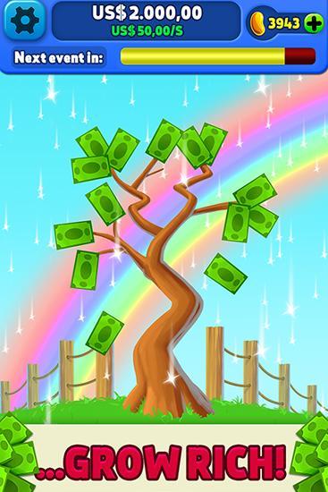 Money tree: Clicker game für Android