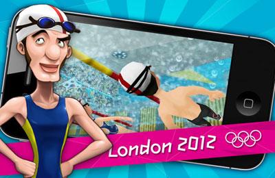 Screenshot London 2012 - Offizielles Handy Spiel auf dem iPhone