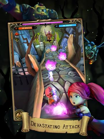 Скріншот Battle quest: Rise of heroes на iPhone