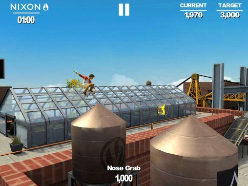 Arcade Transworld endless skater für das Smartphone
