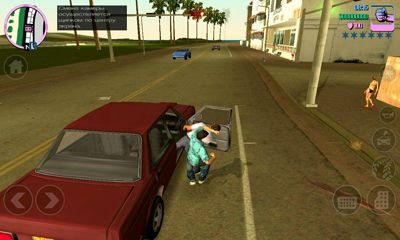 Actionspiele Grand Theft Auto Vice city für das Smartphone