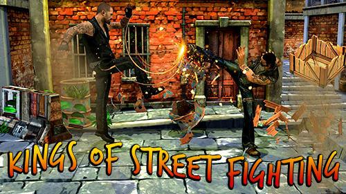 Kings of street fighting: Kung fu future fight captura de pantalla 1