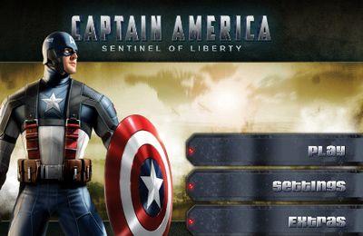 logo El capitán América: centinela de la libertad