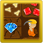 Treasure miner: A mining game Symbol