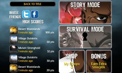 Arcade-Spiele ShaqDown für das Smartphone