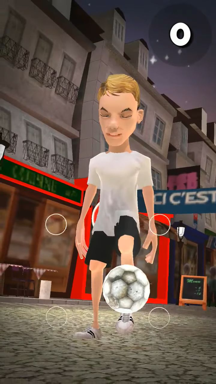 PSG Soccer Freestyle pour Android