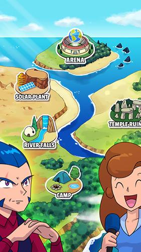 RPG-Spiele Dynamons world für das Smartphone