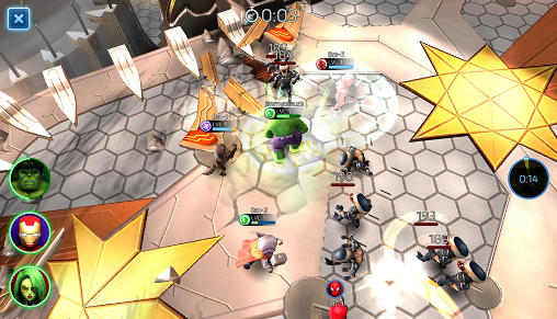 Marvel: Mighty heroes für Android