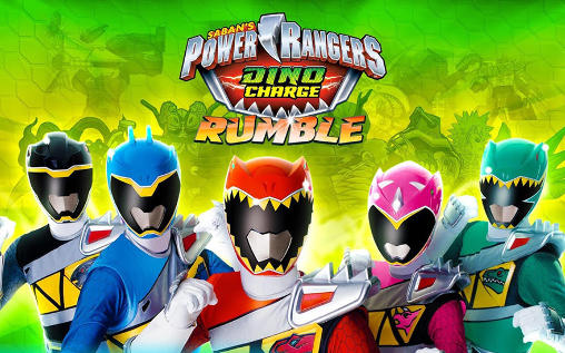 Saban's power rangers: Dino charge. Rumble capture d'écran
