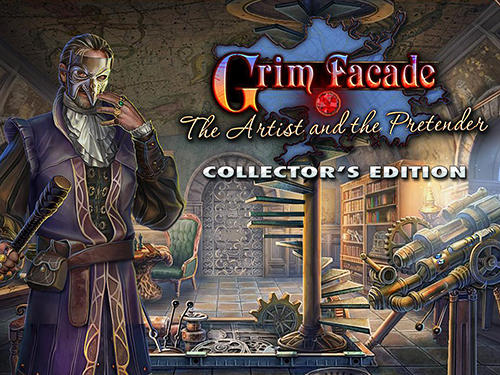 Grim facade: The artist and the pretender. Collector's edition Screenshot