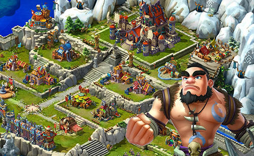 Jogos online Riot of tribespara smartphone