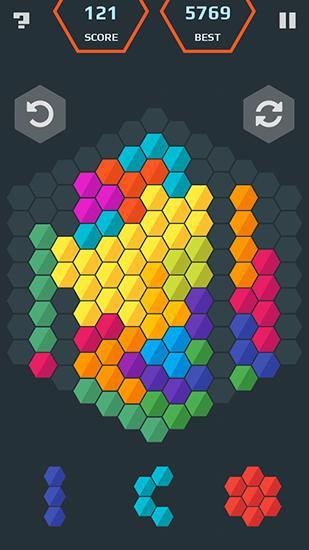 Hexamania: Puzzle Screenshot