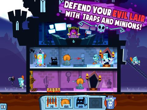 Strategiespiele: Lade Schloss Doombad auf dein Handy herunter