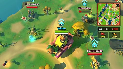 PvPets: Tank battle royale pour iPhone gratuitement