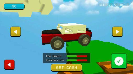 Blocky demolition derby Screenshot