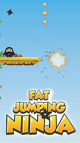 Fat jumping ninja Screenshot