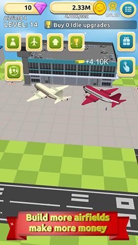 Airfield tycoon clicker für Android