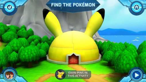 Juegos de dibujos animados Camp pokemon en español