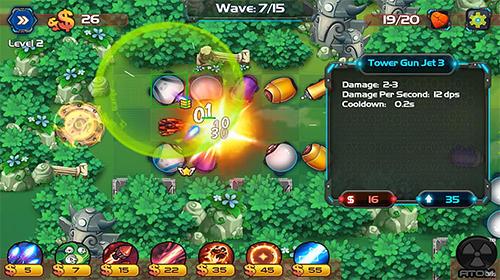 Tower defense: Battle zone auf Deutsch