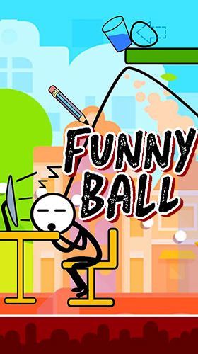 Funny ball: Popular draw line puzzle game Screenshot