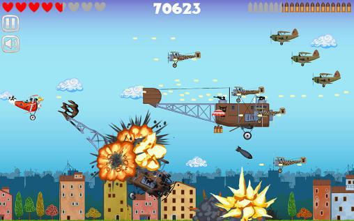 Arcade-Spiele Red baron für das Smartphone