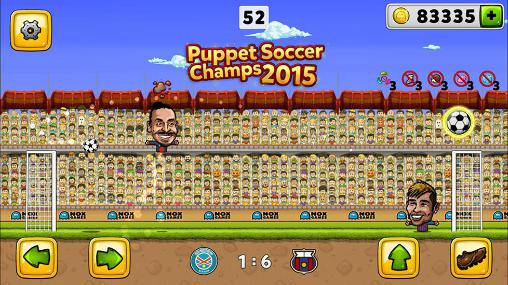 パペット・サッカー・チャンピオンズ 2015 スクリーンショット1