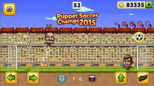 Puppet soccer champions 2015 скріншот 1