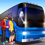 Ultimate bus driving: Free 3D realistic simulator ícone