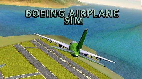 Boeing airplane simulator icône