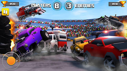 Battle of cars: Fort royale für Android