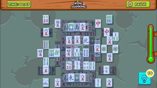 King of mahjong solitaire: King of tiles für Android