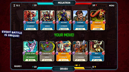 KlanZ: Card battles für Android