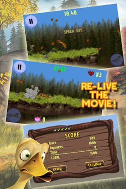 Alpha and Omega Alpha Run Game for iPhone