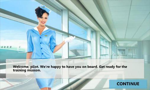 Simulation Mayday! 2: Terror in the sky. Emergency landing für das Smartphone