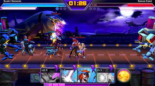 Strategische RPG-Spiele Rumble heroes auf Deutsch