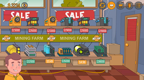 Idle miner simulator: Tap tap bitcoin tycoon for Android