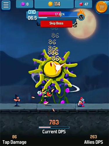 Arcade Idle hero clicker game: Win the epic battle für das Smartphone