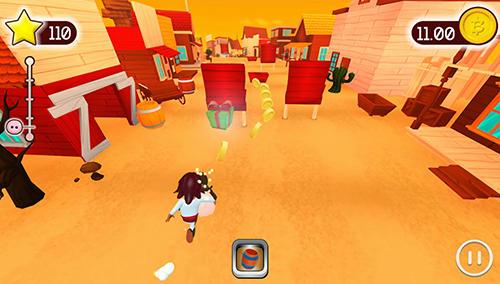 Arcade Bacon run! für das Smartphone