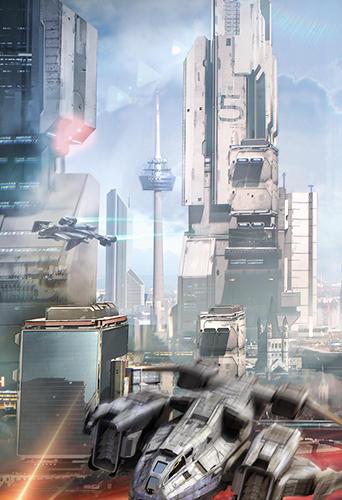 Onlinespiele Battle zone: Alien expanse für das Smartphone