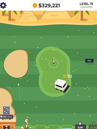 Sport Golf Inc. tycoon für das Smartphone