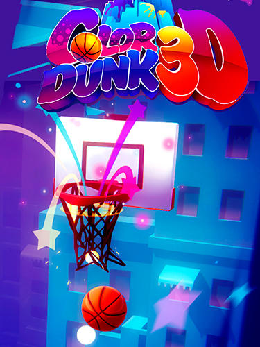 logo Dunk de color 3D