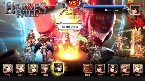 RPG-Spiele Heroes will für das Smartphone