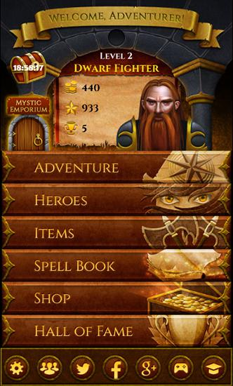 RPG Dungeon adventure: Curse of Abandum für das Smartphone