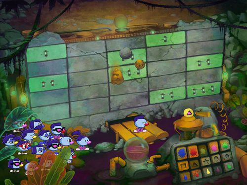Screenshot Zoombinis auf dem iPhone