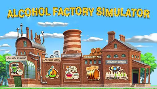 Alcohol factory simulator Screenshot